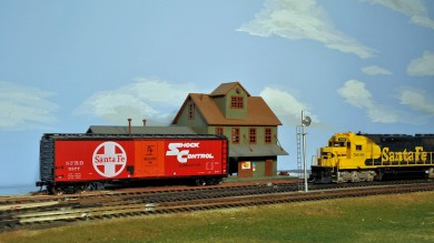 Jay Janzen's HO Scale Santa Fe Model Railroad