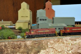 Jeremy Janzen's Santa Fe Model Railroad