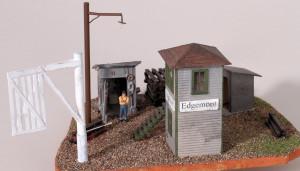 Edgemont Tower & Gate Diorama Diorama