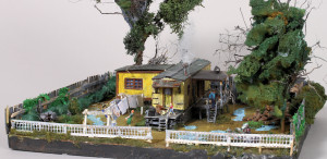 Hooverville Diorama