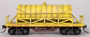 MPCX #156 Wood Tank Car