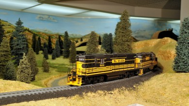 Ron Schlueter's HO Scale San Jose Southern Model Railroad