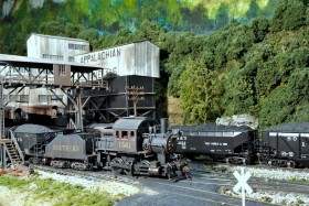 Herb Gilden's Scenic HO Scale Southern Model Railroad