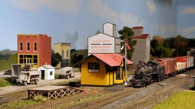 Rene LaVoise's HO Scale Sedalia & Warsaw Model Railroad