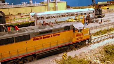 WG&F Matson siding switcher.
