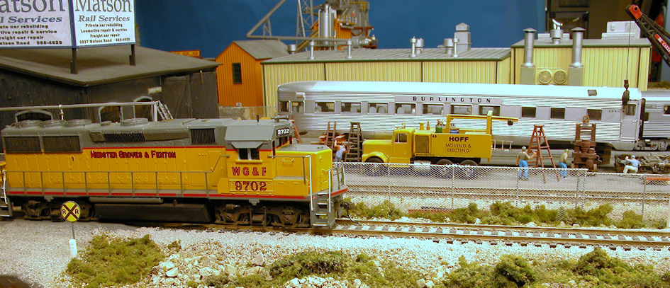 Train #102 The Matson Siding Switcher.