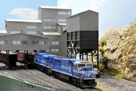 Curt Regensberger's HO Scale The Streator Connection Model Railroad