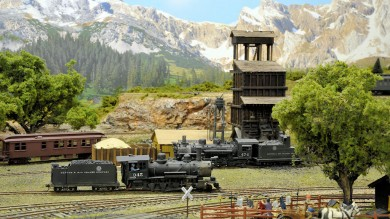 Don Taschner's HO and HOn3 Scenic Model Railroad