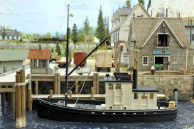 Pete Smith's Loon Lake Railway & Navigation Co. Sn3 Model Railroad