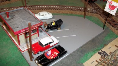 Building a Drive-In Restaurant