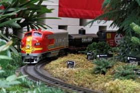 "2012 Missouri Botanical Garden ""Gardenland Express"" Garden Railroad"