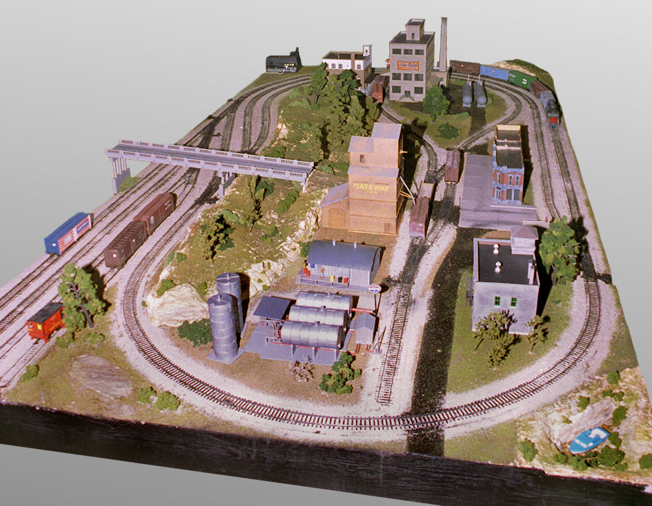 Tyco trains - Ho train layouts for small spaces image ...