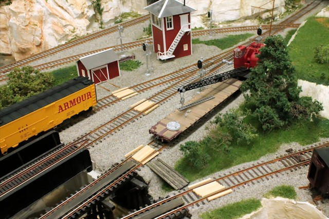 Detailing a Model Railroad Yard Scene