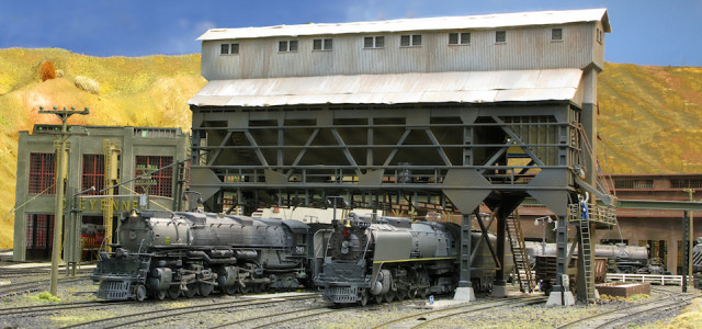 Coaling at Cheyenne on Brad Joseph's Union Pacific