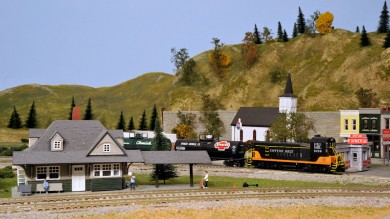 Jerry Jungers' HO Scale Western Arkansas Railroad