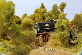 Bill Wehmeier's Katy, KCS and Wabash Model Railroad