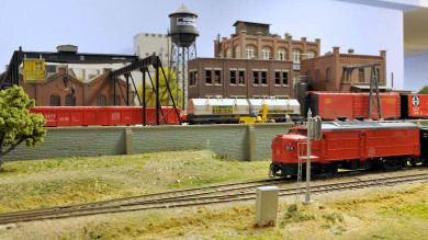 Bill Wehmeier's Katy, KCS and Wabash Model Railroad
