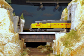 Brian Post's Sierra Nevada and Indian River Railway