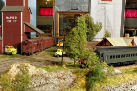 John Russell's O Scale Rock Island Lines Model Railroad