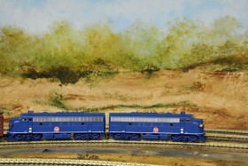 Bob Sanderson's Illinois Southern Model Railroad