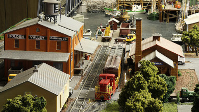 Bob Weinman's Harbor Point & Western Railroad