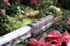 "2013 Missouri Botanical Garden ""Gardenland Express"" Garden Railroad"