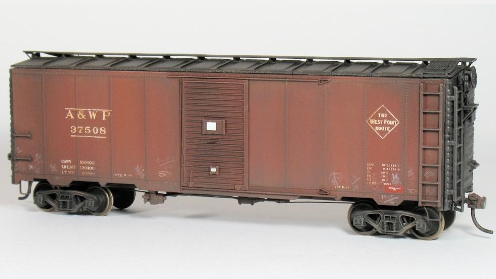 Three Southeastern Box Cars