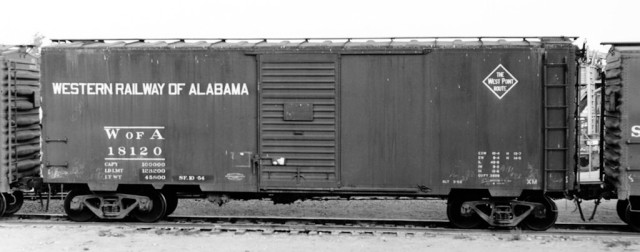Well-worn WofA 18120 was photographed in El Centro, California by Chet McCoid on New Year's Day, 1955. Bob's Photo, courtesy Ed Hawkins.