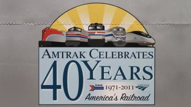 Amtrak Celebrates 40 Years