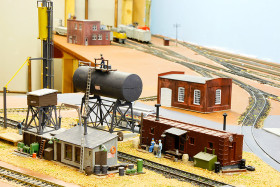 Joyce and David Silverman's Silver Valley Lines Model Railroad