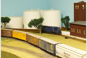 Patrick Pope's Cotton Belt Model Railroad