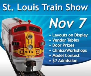 Nov. 5, 2016 St. Louis Train Show Banner