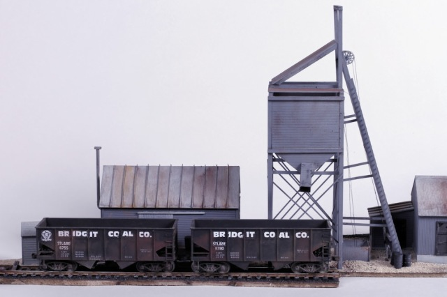 John Carty, 2014 Kitbash Contest Second Place, Coal Mine