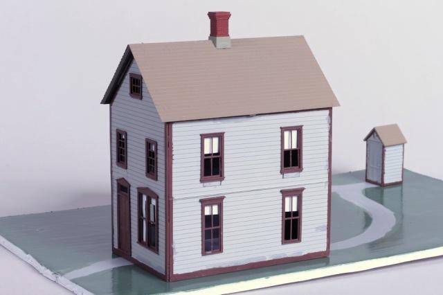 Jon Marx, 2014 Kitbash Contest Third Place, Two Story House