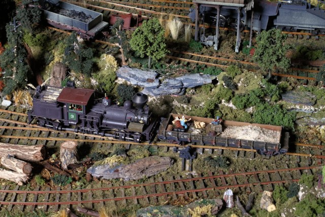 Tom Trotter's Pacific Coast Logging Diorama