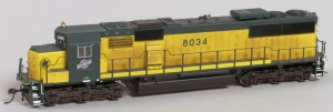 C&NW #8034 Diesel Locomotive