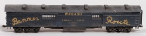 Wabash #368 REA Baggage Car