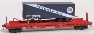 Wabash #180 TOFC Flat Car