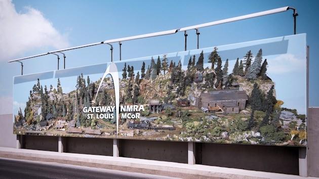 Gateway NMRA 3D Logo 68