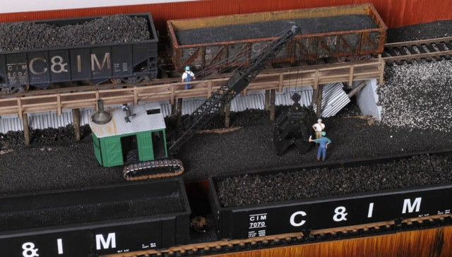 Havana Transfer HO Scale Coal Dock