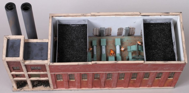 Winstanley Powerhouse HO Scale Model