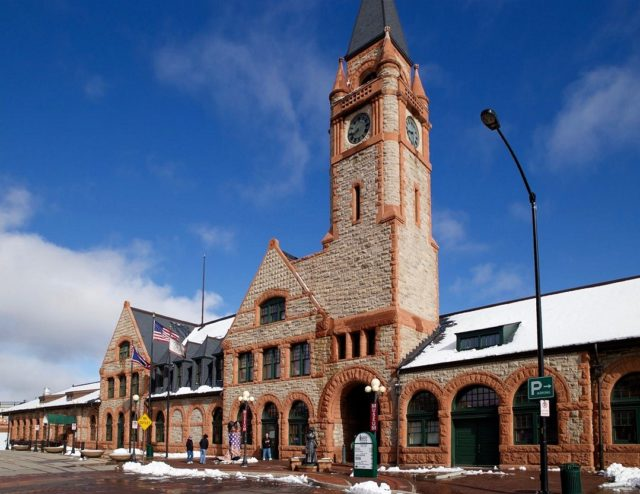The historic Cheyenne Depot, built in 1886, continues its renovation, which started in 2011. It houses a large and well done rail museum, an outstanding model railroad that takes the viewer back in time to the early Wyoming railroad days, and an enclosed second floor observation area overlooking the UP yard and roundhouse. Within the next month, it will also feature a new restaurant.
