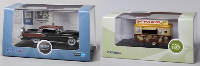 Oxford Ho Scale Vehicle Packaging