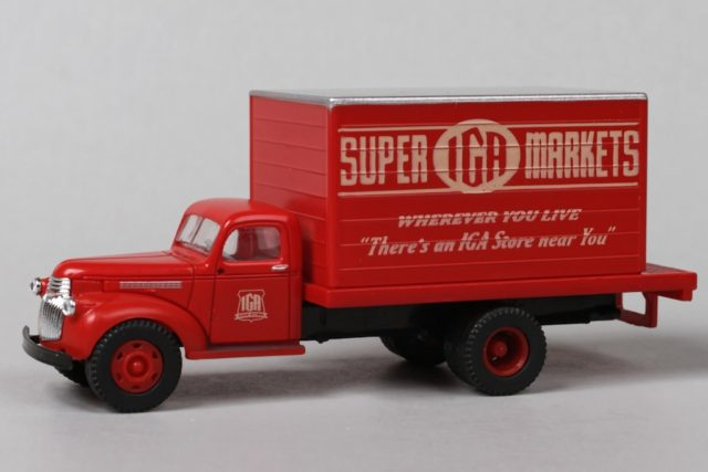 Mini Metals HO Scale IGA Delivery Truck