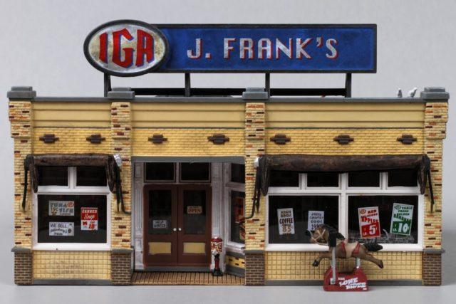Woodland Scenics Frank's Grocery