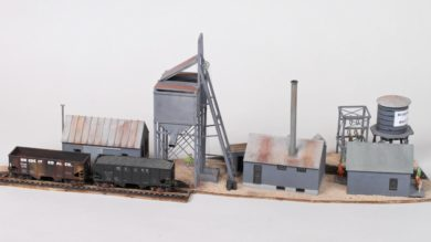 Kitbash the Belleville Radium Mine