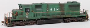 C&IM #70 Diesel Locomotive