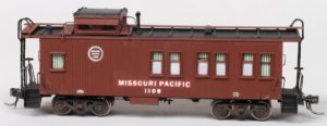 Missouri Pacific #1108 Drovers Caboose