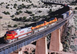 BNSF Over Bridge
