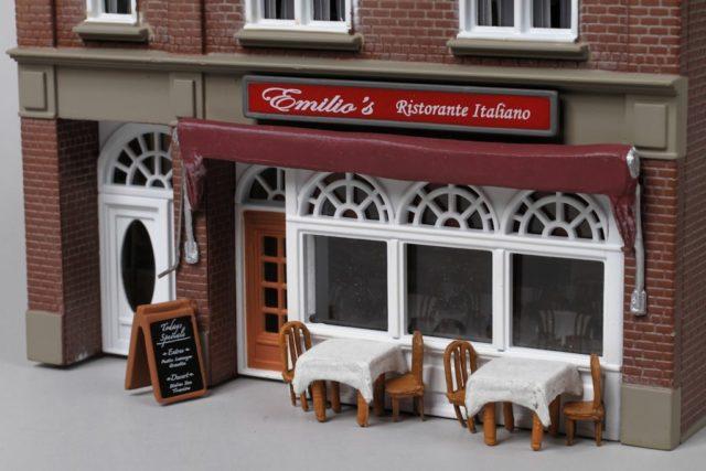 Emilio's Italian Restaurant Front Details